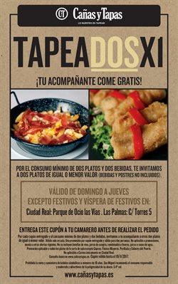 Ofertas de Cañas y Tapas  en el folleto de Madrid