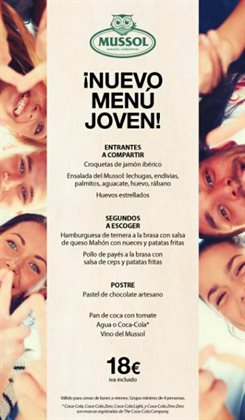 Ofertas de Mussol  en el folleto de L'Hospitalet de Llobregat