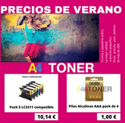 Ofertas de A4 Toner en el catálogo de A4 Toner ( 7 días más)