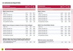 Ofertas de Envío y paquetería  en el folleto de Correos en San Bartolomé de Tirajana