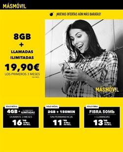 Ofertas de MÁSmóvil  en el folleto de Valencia