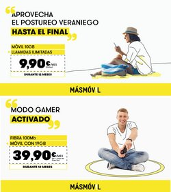 Catálogo MÁSmóvil en Medina de Pomar ( 11 días más )