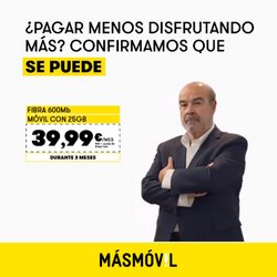 Ofertas de MÁSmóvil en el catálogo de MÁSmóvil ( Publicado ayer)