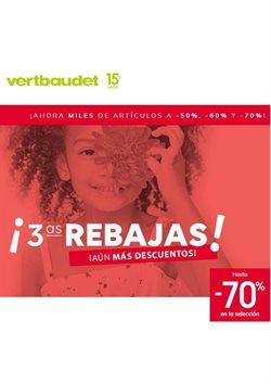 Ofertas de Rebajas en el cat谩logo de Vertbaudet ( 2 d铆as m谩s)