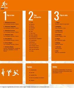 Ofertas de Wok To Walk  en el folleto de Barcelona
