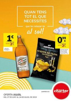Ofertas de Supermercados Charter  en el folleto de Barcelona