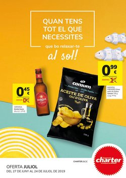 Ofertas de Supermercados Charter  en el folleto de Sant Cugat del Vallès