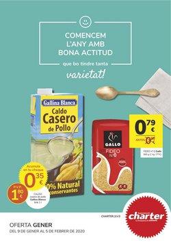 Ofertas de Supermercados Charter  en el folleto de Massalfassar