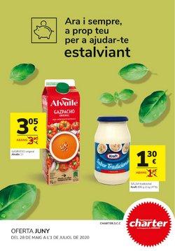 Catálogo Supermercados Charter en Manresa ( 26 días más )