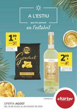 Catálogo Supermercados Charter en Paterna ( 23 días más )