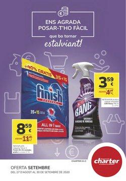 Catálogo Supermercados Charter en Xixona ( 2 días más )