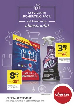 Catálogo Supermercados Charter en Molina de Segura ( 5 días más )