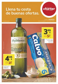 Catálogo Supermercados Charter ( 20 días más)