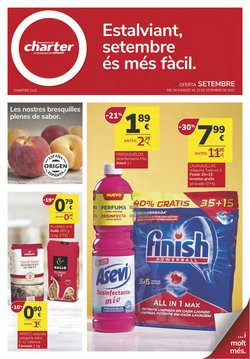 Catálogo Supermercados Charter ( 3 días más)