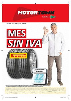Ofertas de MotorTown  en el folleto de San Sebastián de los Reyes