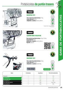 Ofertas de Portabicicletas  en el folleto de Feu Vert en Madrid