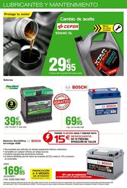 Ofertas de Batería de coche  en el folleto de Feu Vert en Cartagena