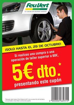 Ofertas de Coche, moto y recambios  en el folleto de Feu Vert en Ourense