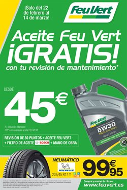 Ofertas de Feu Vert  en el folleto de Madrid