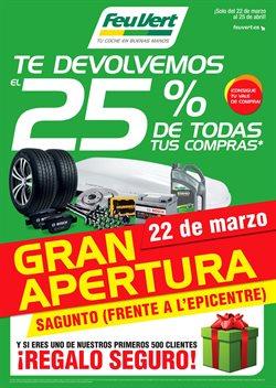 Ofertas de Feu Vert  en el folleto de Valencia