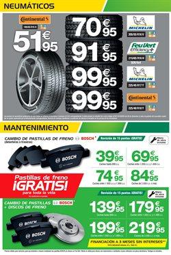 Ofertas de Neumáticos  en el folleto de Feu Vert en Madrid