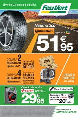 Ofertas de Coche, moto y recambios  en el folleto de Feu Vert en Bilbao