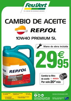 Ofertas de Aceite para motor  en el folleto de Feu Vert en Madrid
