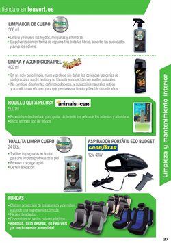 Ofertas de Aspirador  en el folleto de Feu Vert en Ourense