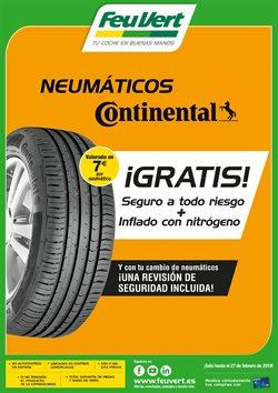 Ofertas de Neumáticos  en el folleto de Feu Vert en Castelldefels