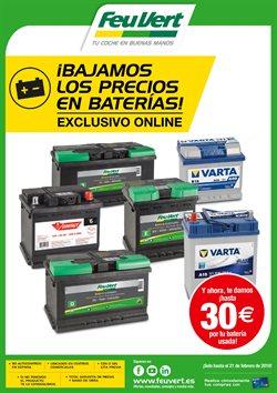 Ofertas de Batería de coche  en el folleto de Feu Vert en Chiclana de la Frontera