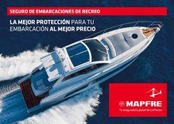 Ofertas de Bancos y seguros  en el folleto de MAPFRE en Palamos
