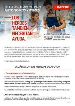 Ofertas de Bancos y Seguros en el catálogo de MAPFRE en Tàrrega ( 22 días más )