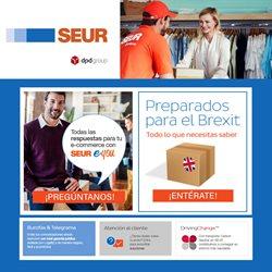 Ofertas de Libros y papelerías  en el folleto de SEUR en Almenara