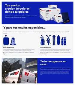 Ofertas de MRW  en el folleto de Vilanova i la Geltru
