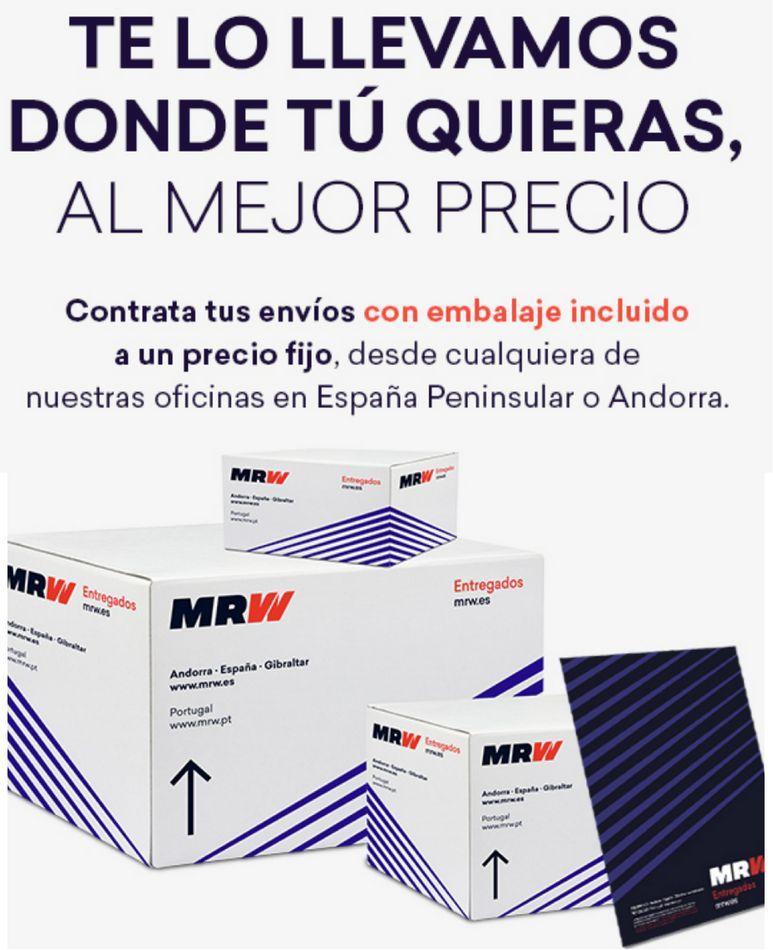 Mrw Priego De Cordoba Ofertas Tarifas De Envio Y Oficinas
