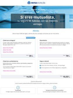 Ofertas de Bancos y Seguros en el catálogo de Mutua Madrileña en A Coruña ( 2 días más )