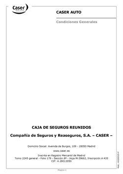 Ofertas de Caser Seguros  en el folleto de Las Palmas de Gran Canaria