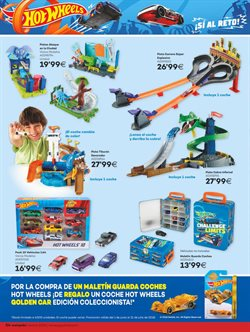 Ofertas de Hot Wheels  en el folleto de Juguettos en León