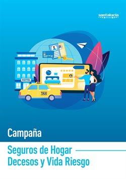 Ofertas de Bancos y seguros  en el folleto de Santalucía en Monforte de Lemos