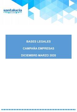 Ofertas de Bancos y Seguros  en el folleto de Santalucía en Muro de Alcoy