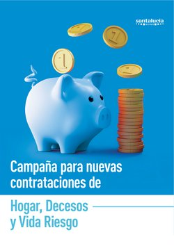 Ofertas de Bancos y Seguros en el catálogo de Santalucía en Arenys de Mar ( 11 días más )