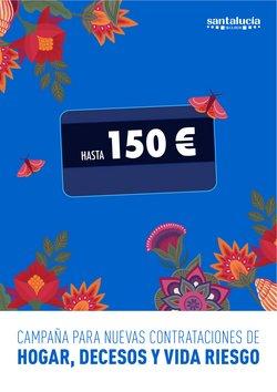 Ofertas de Bancos y Seguros en el catálogo de Santalucía ( 8 días más)