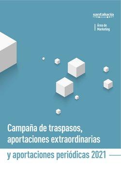Ofertas de Bancos y Seguros en el catálogo de Santalucía ( Más de un mes)