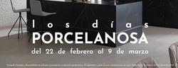 Ofertas de Porcelanosa  en el folleto de Valladolid