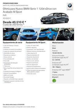 Catálogo BMW en Elda ( Caduca mañana )
