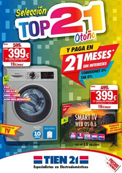 Ofertas de Tien 21  en el folleto de Valladolid
