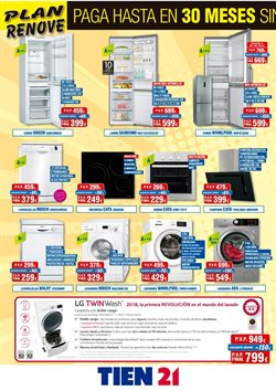 Ofertas de Whirlpool  en el folleto de Tien 21 en Madrid