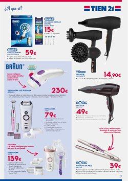 Ofertas de Electrodomésticos cuidado personal  en el folleto de Tien 21 en Ourense