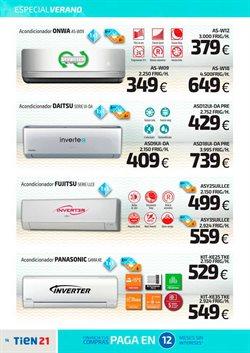 Ofertas de Panasonic  en el folleto de Tien 21 en Madrid