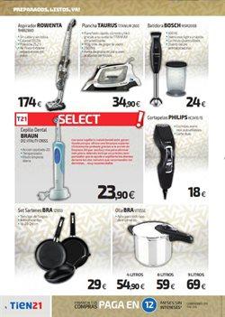 Ofertas de Braun  en el folleto de Tien 21 en Madrid